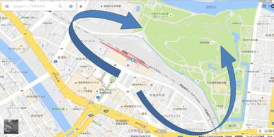 Tokushimastationmap